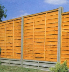 How To Install Fence Panels In Concrete Posts