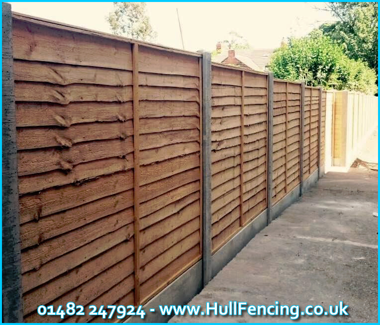 Fence Posts in Hull