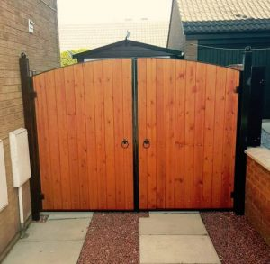 Wooden Gates in Hull