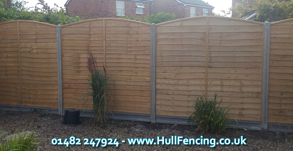 Lap Fence Panels Hull