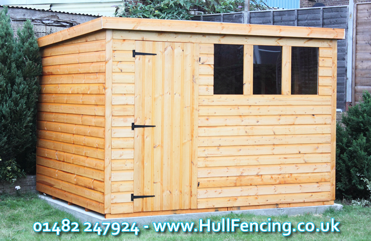 Purchase One Of Our Sheds in Hull