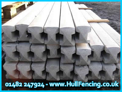 5ft Concrete Posts in Hull