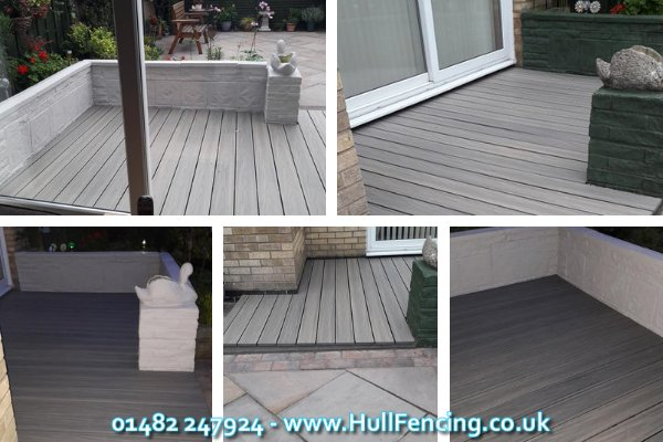 Composite Decking in Hull